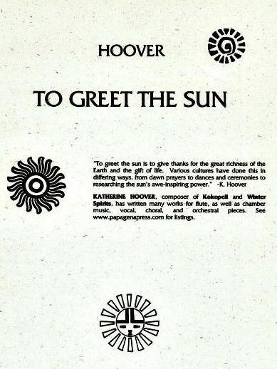 To Greet The Sun